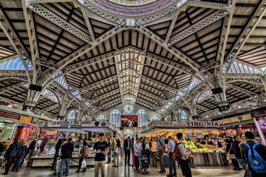 Látnivalók Valencia: Mercado Central