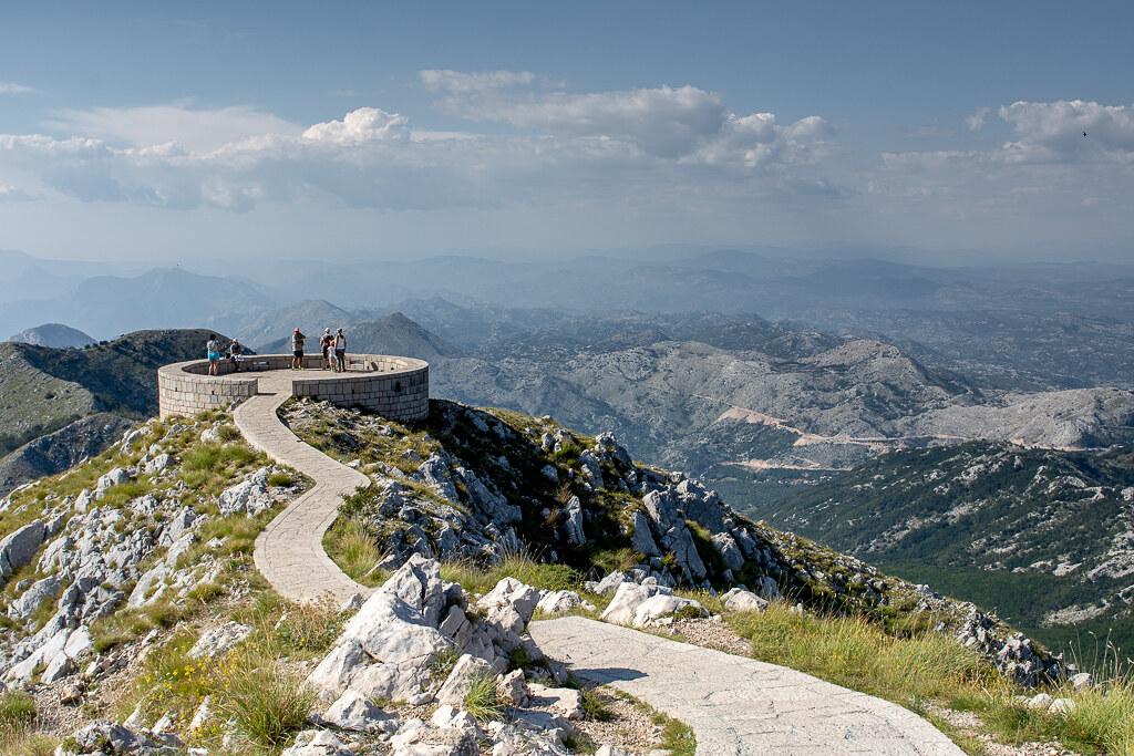 Látnivalók Montenegróban - Lovcen