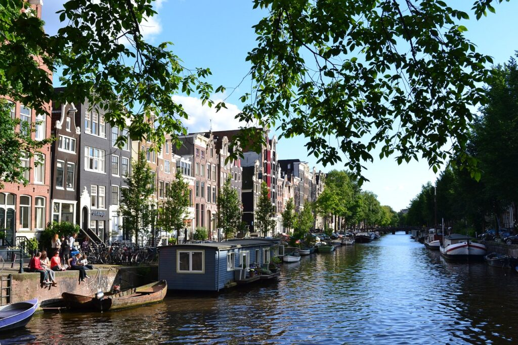 Látnivalók Amszterdam: csatornák
