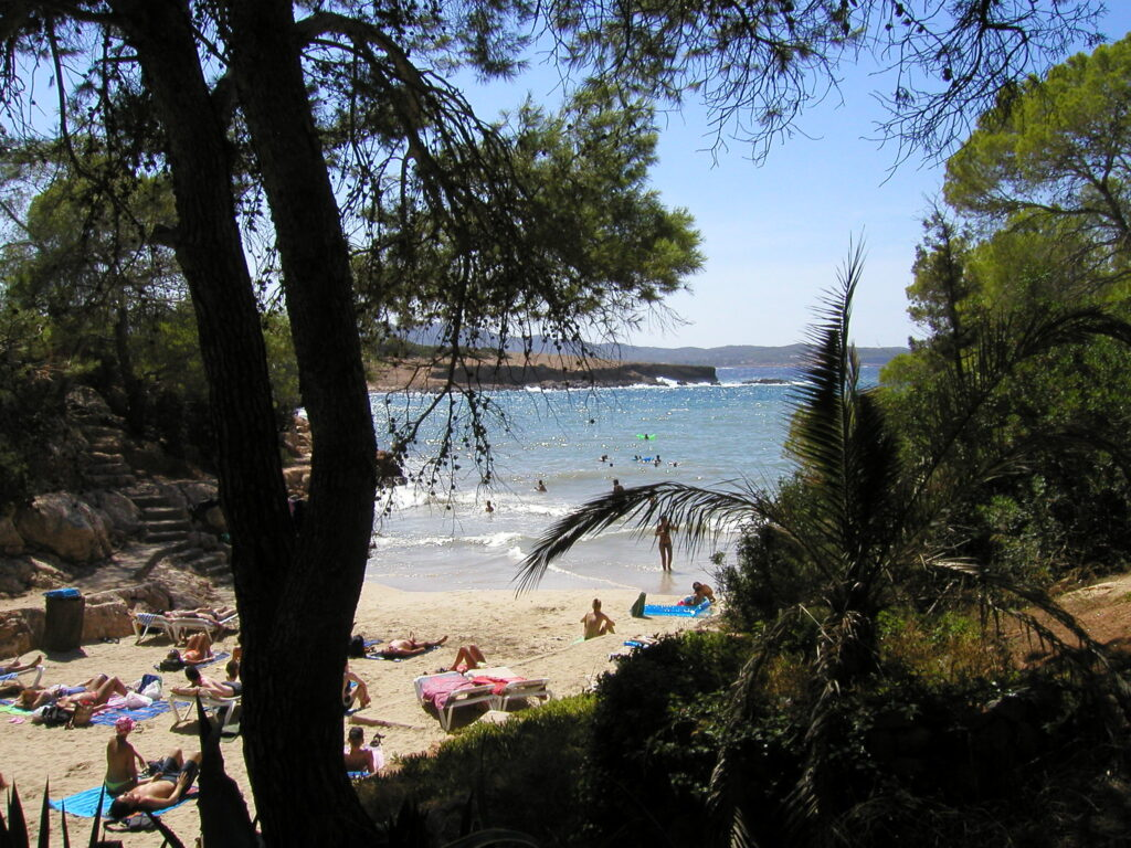 Ibiza látnivalók - Cala Gracioneta