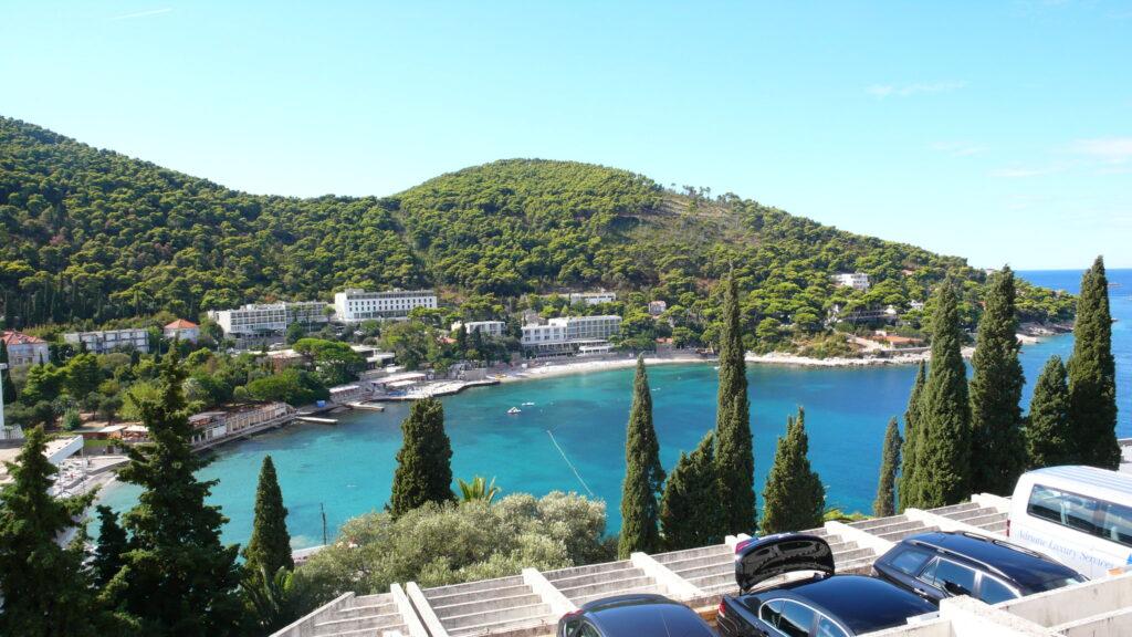 Dubrovnik látnivalók - Lapad beach