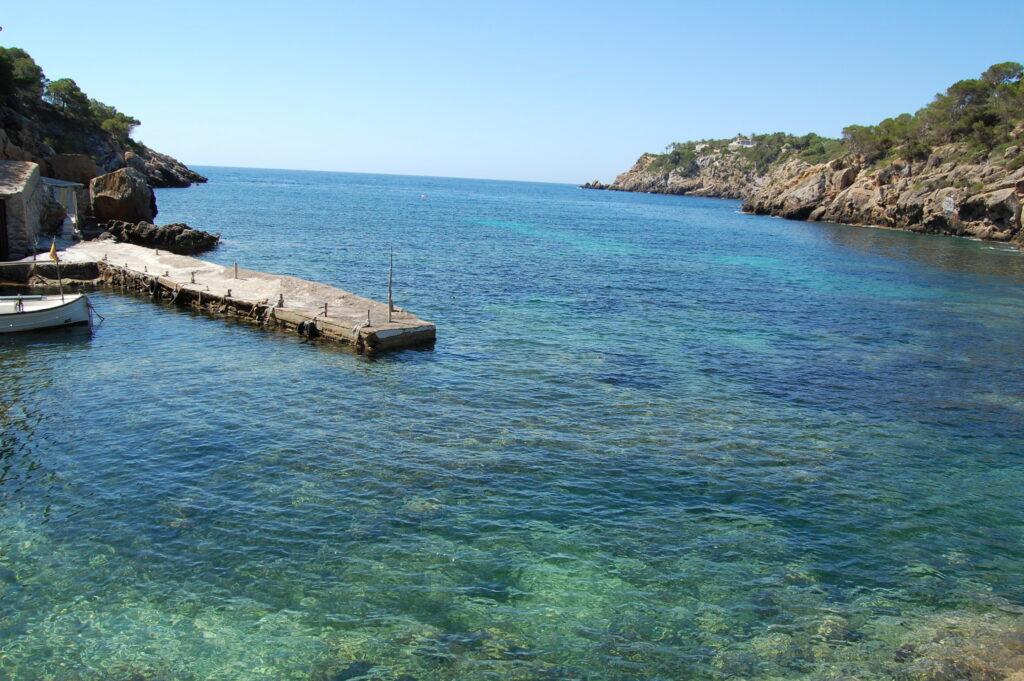 Ibiza látnivalók - Cala Mastella