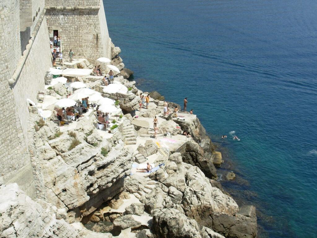 Dubrovnik látnivalók - Buza Bar