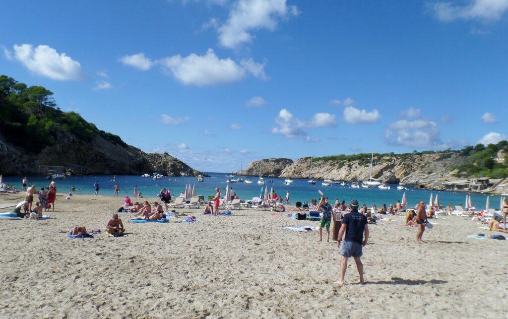 Ibiza látnivalók - Cala Vadella