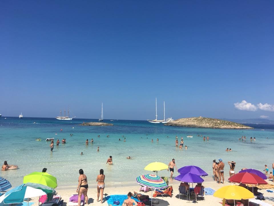 Ibiza látnivalók - Las Salinas