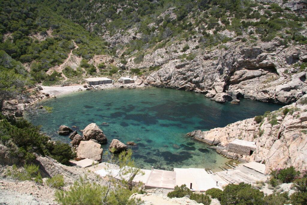 Ibiza látnivalók - Es Portitxol