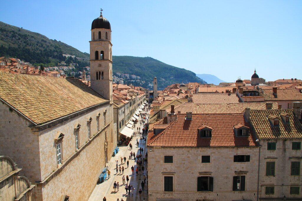 Dubrovnik látnivalók - Stradun