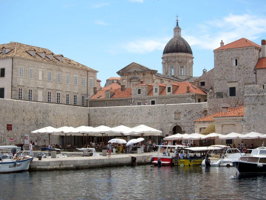 Dubrovnik látnivalók - Régi kikötő