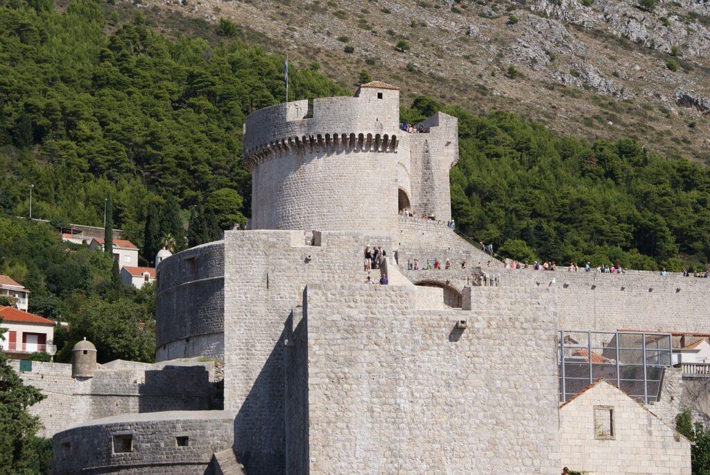 Dubrovnik látnivalók - Minceta erőd
