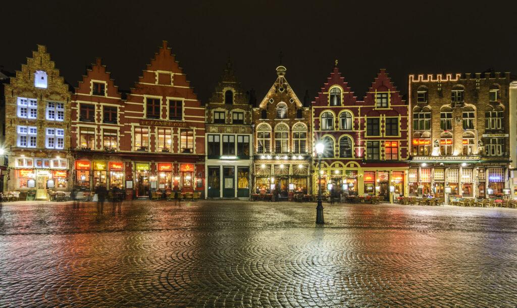 Brugge látnivalók: Markt tér