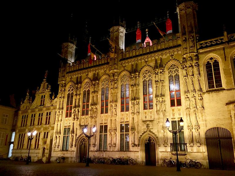 Brugge látnivalók: városháza