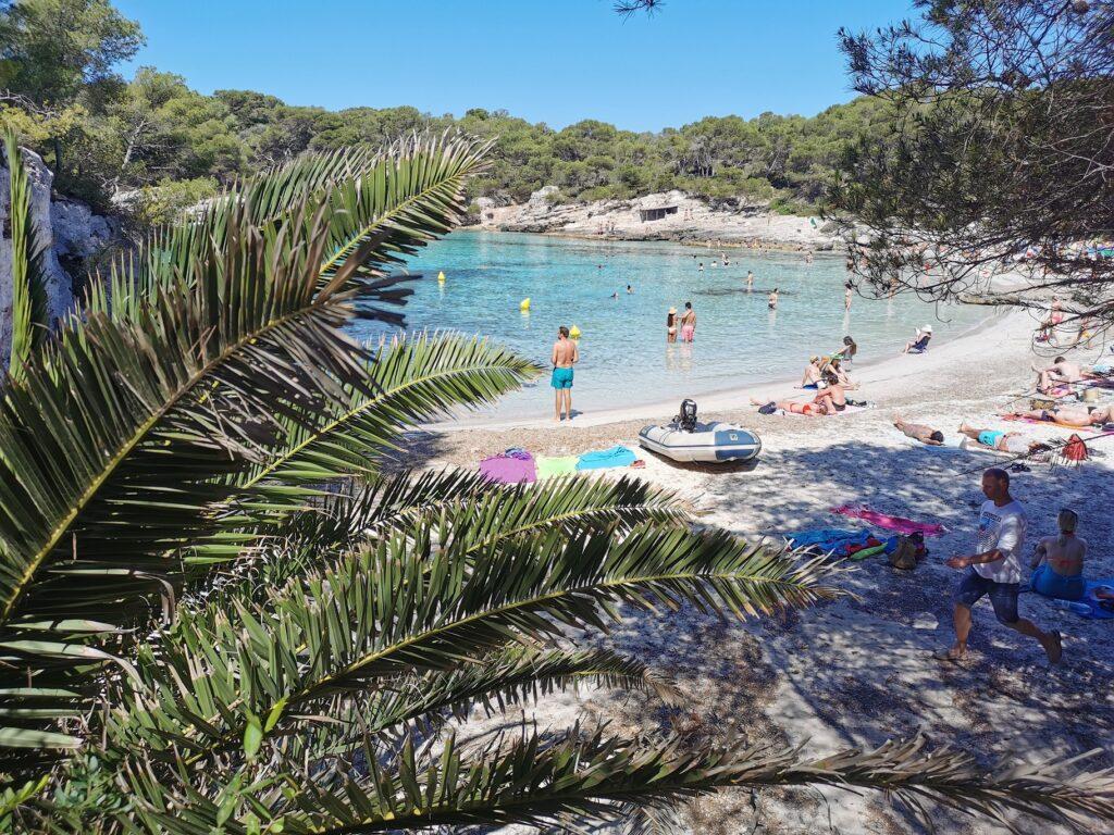 Menorca látnivalók: Cala Turqueta