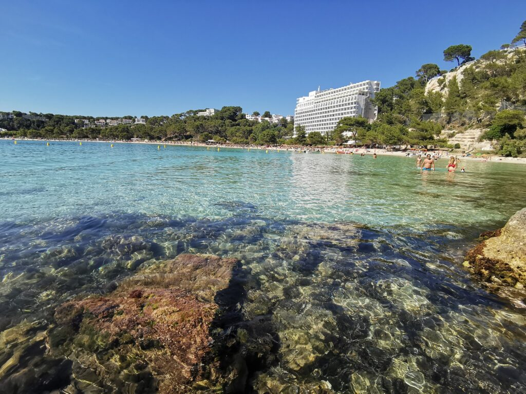 Menorca látnivalók: Cala Galdana