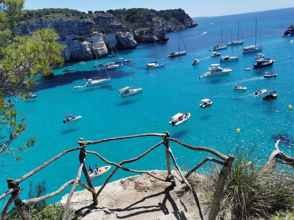 Menorca látnivalók: Cala Macarella