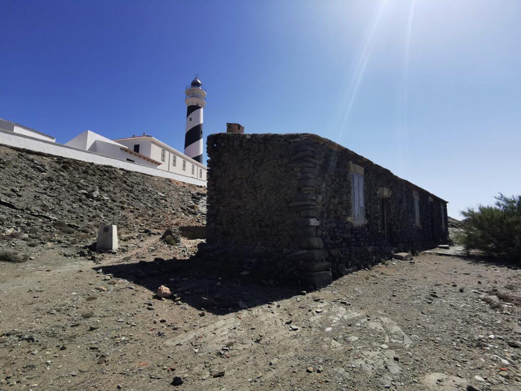 Menorca látnivalók: Far de Favátrix