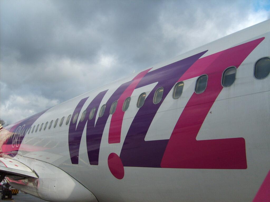 Wizz air járattörlés: repülőgép