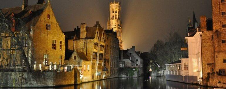 Brugge Bruges látnivalók Belgiumban
